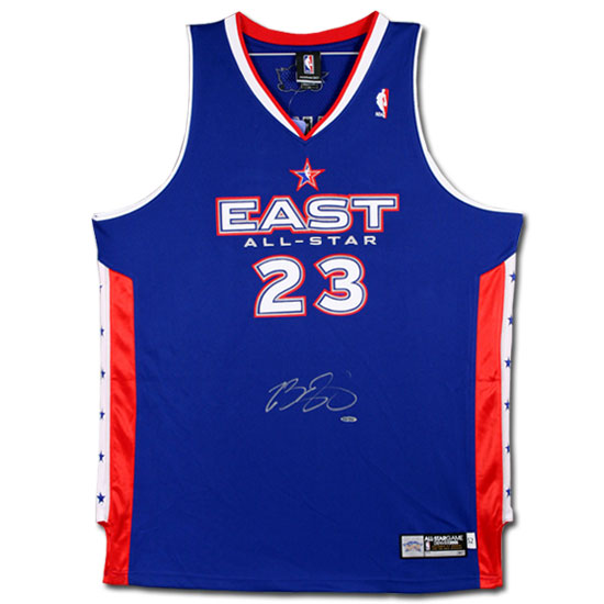 Upper Deck Authenticated (UDA) released the 2005 NBA All Star Game jersey  which has been autographed by LeBron James. The 2005 All Star Game was the  First ... 59bbd01f9