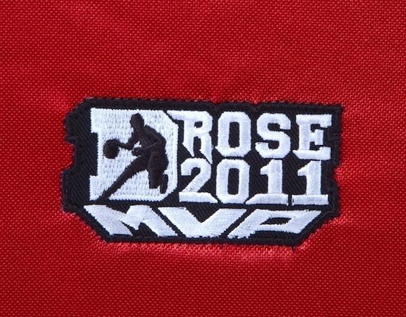 Derrick rose signed 2011 nba mvp logo away jersey uda le 25101 this voltagebd Choice Image