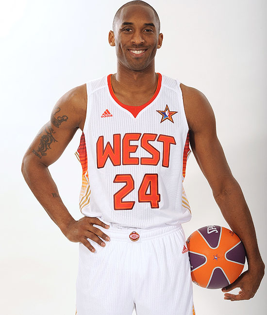 nba all star game played on feb 15 2009 in phoenix kobe bryant led all
